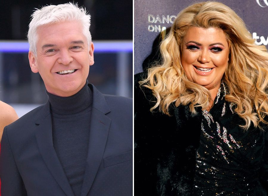 Phillip Schofield Doubting Gemma Collins Will Make First 'Dancing On Ice' Live