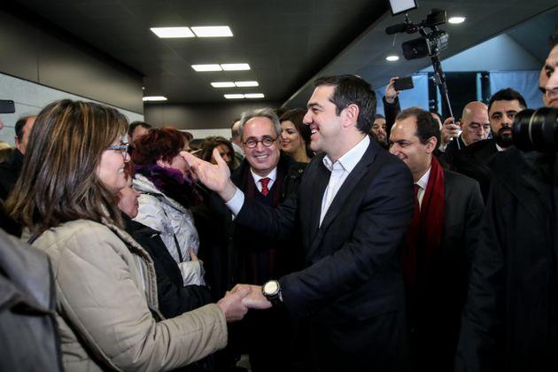Τσίπρας στο μετρό Θεσσαλονίκης: Tο πιο γνωστό ανέκδοτο για την πόλη γίνεται