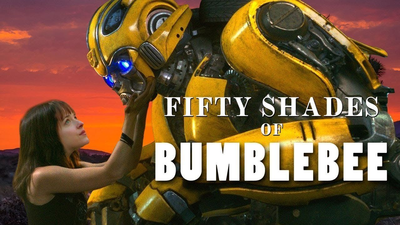 """Fifty Shades Of Bumblebee"" mashup by Funny Or Die"