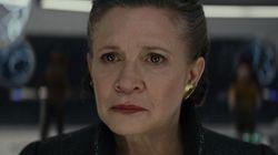 A família de Carrie Fisher 'adorou' o que foi feito com Leia em 'Star Wars: Episódio