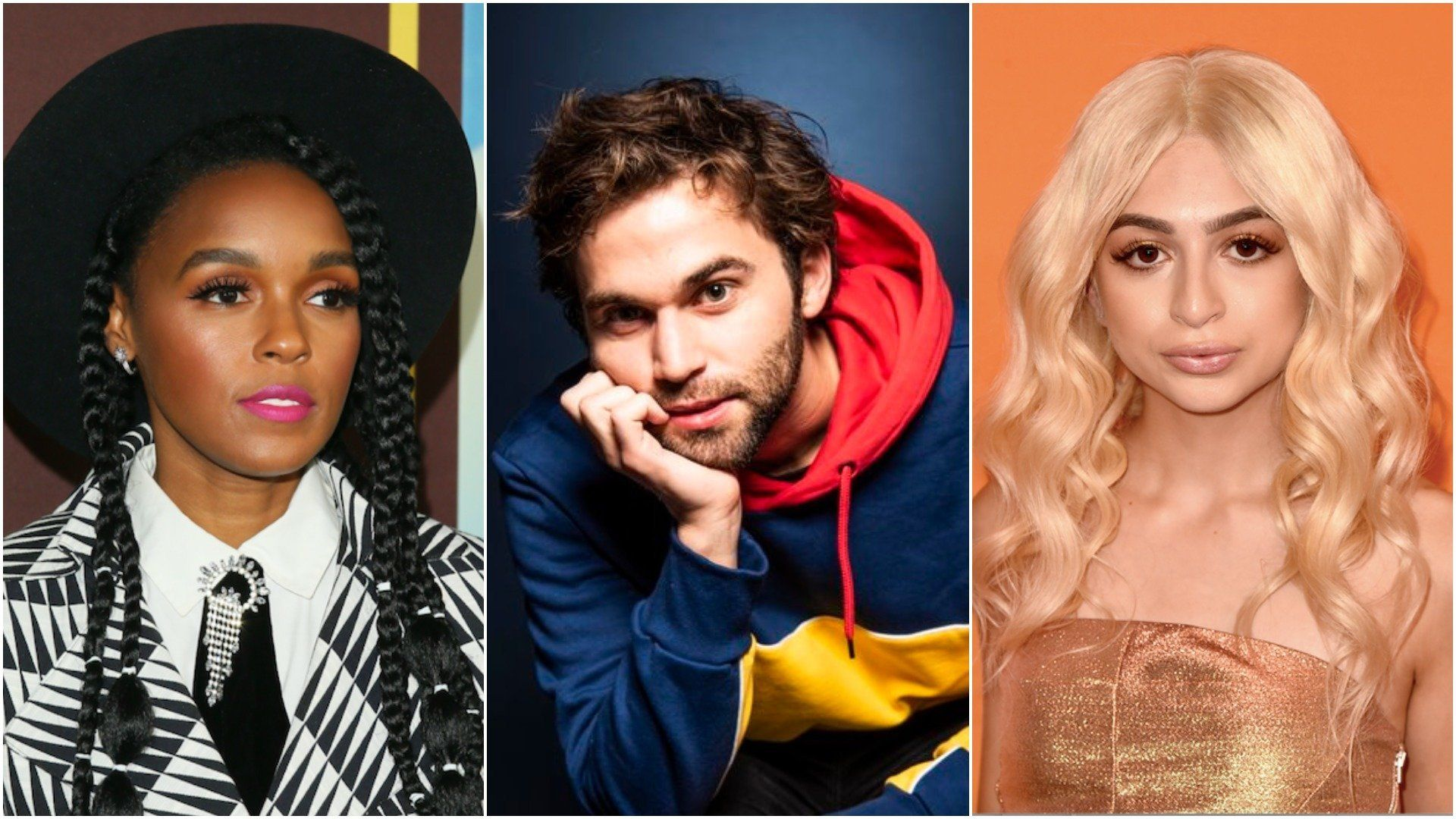 From left: Janelle Monáe, Jake Borelli and Josie Totah are among the celebrities to come out publicly as mem