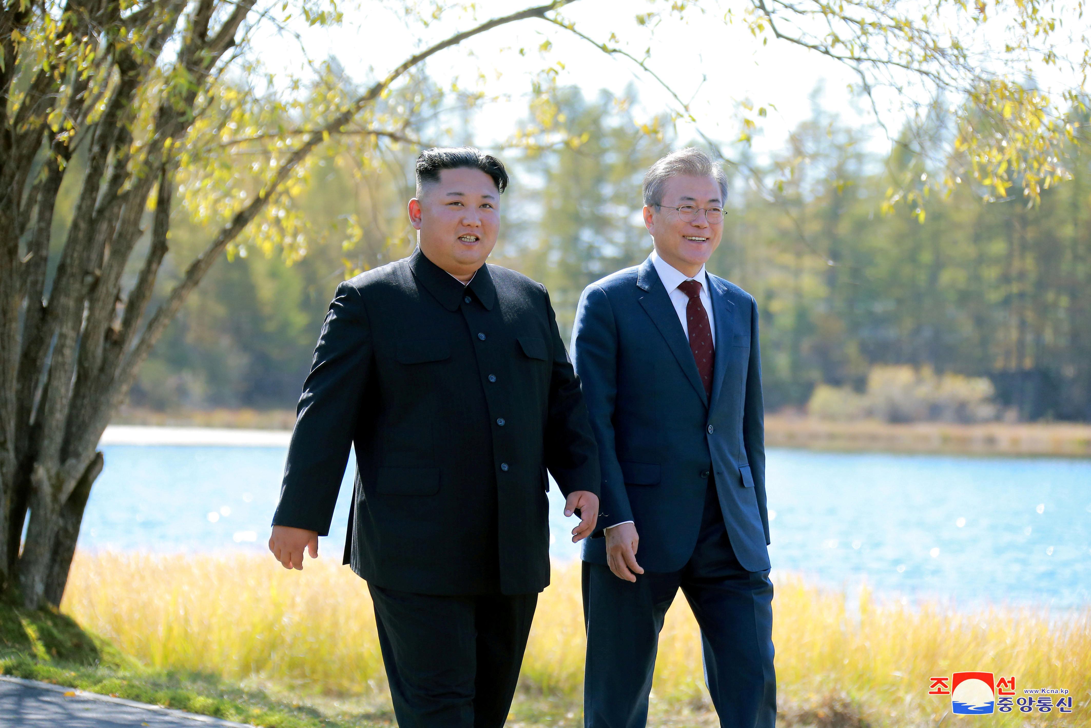 김정은 위원장이 문대통령에게 친서를