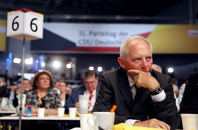 Wolfgang Schäuble warnt vor Alarmismus.