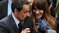 Carla Bruni et Nicolas Sarkozy à
