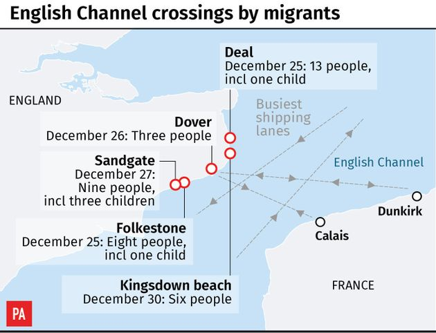 UK and France agree to 'ramp up' action on English Channel migrant
