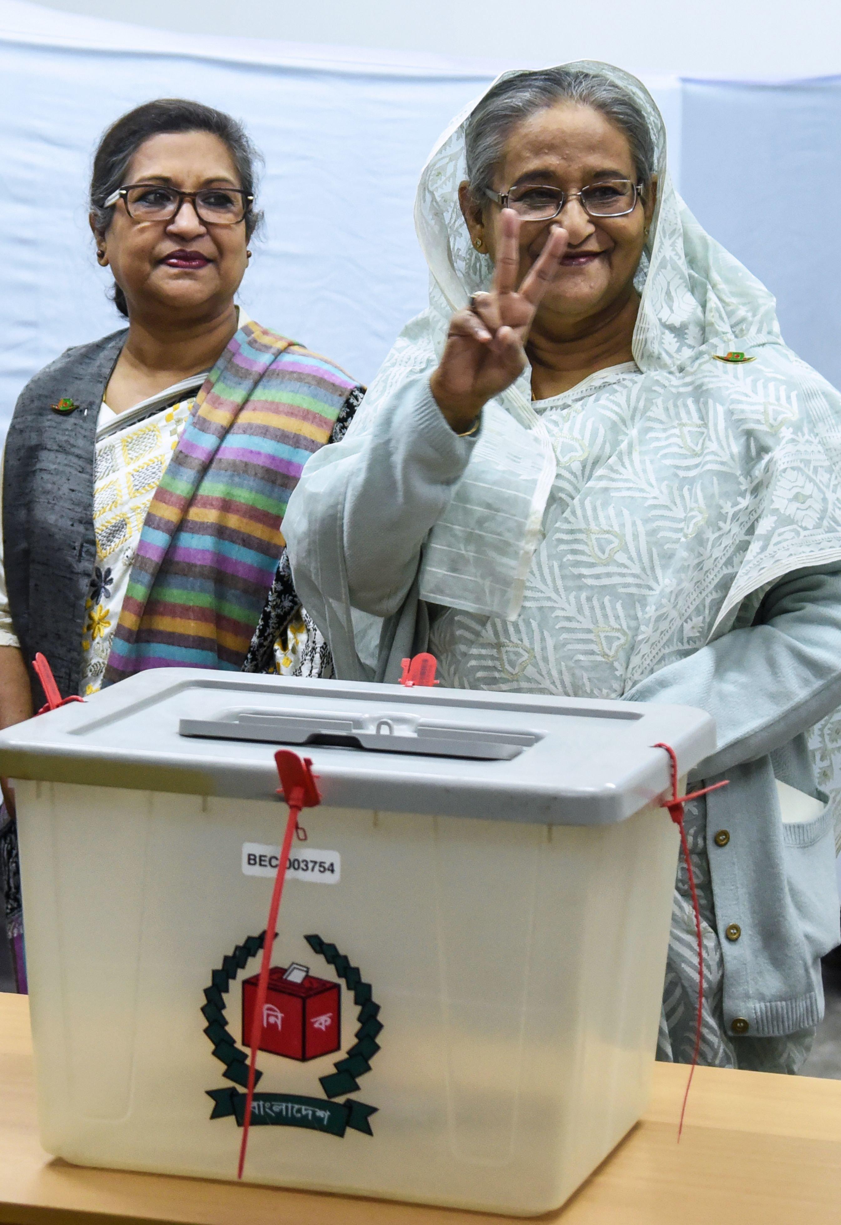 Bangladesh Elections: Sheikh Hasina's Alliance Wins Thumping