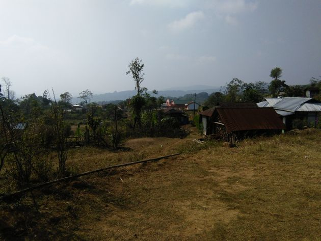 The Church inLumthari village. The three cousins loved to be involved in the church