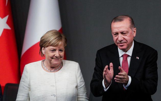 Angela Merkel und Recep Tayyip Erdogan.
