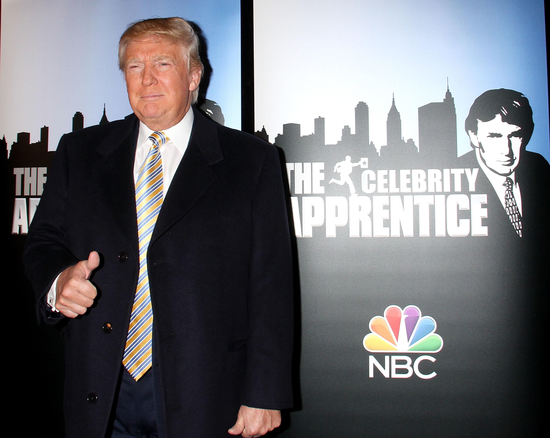 Donald Trump wurde vom Fernsehstar zum Präsidenten.