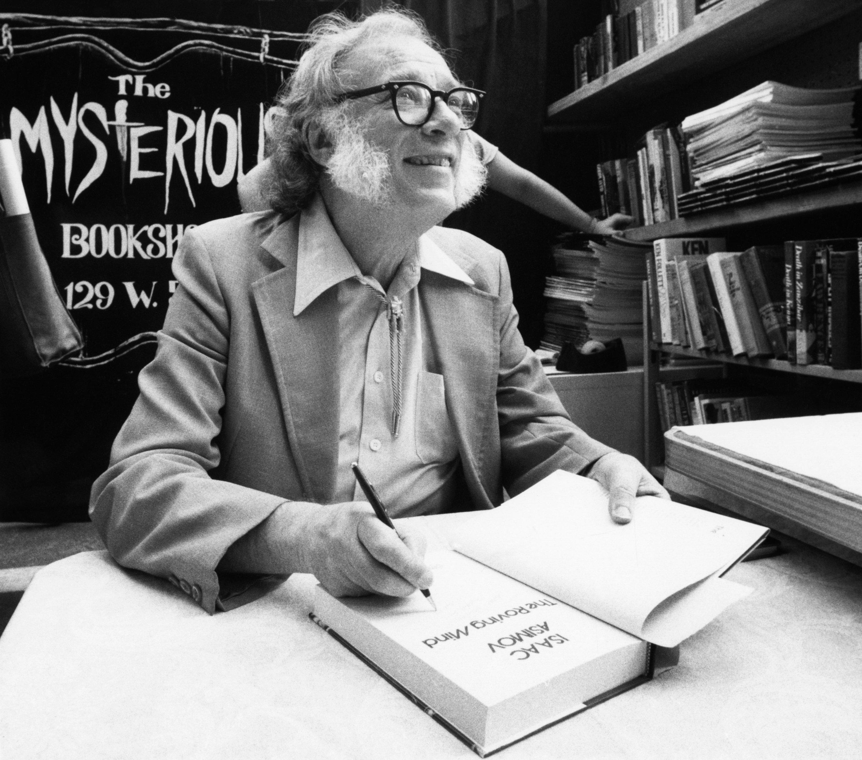 Les prédictions pour 2019 qu'Isaac Asimov a fait il y a 35