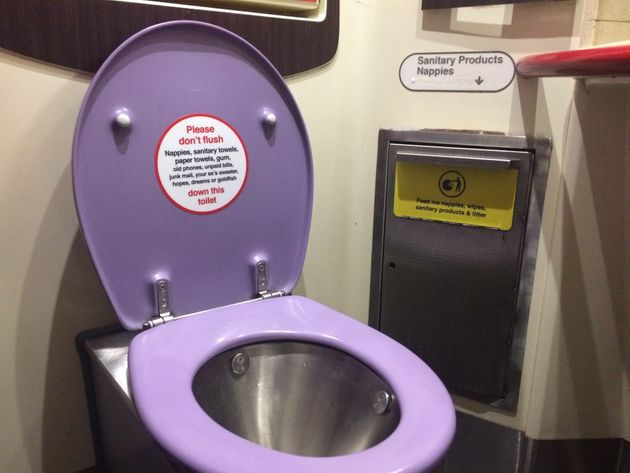 Virgin Trains Urges Customers Not To Flush 'Strange Items' Following Bra