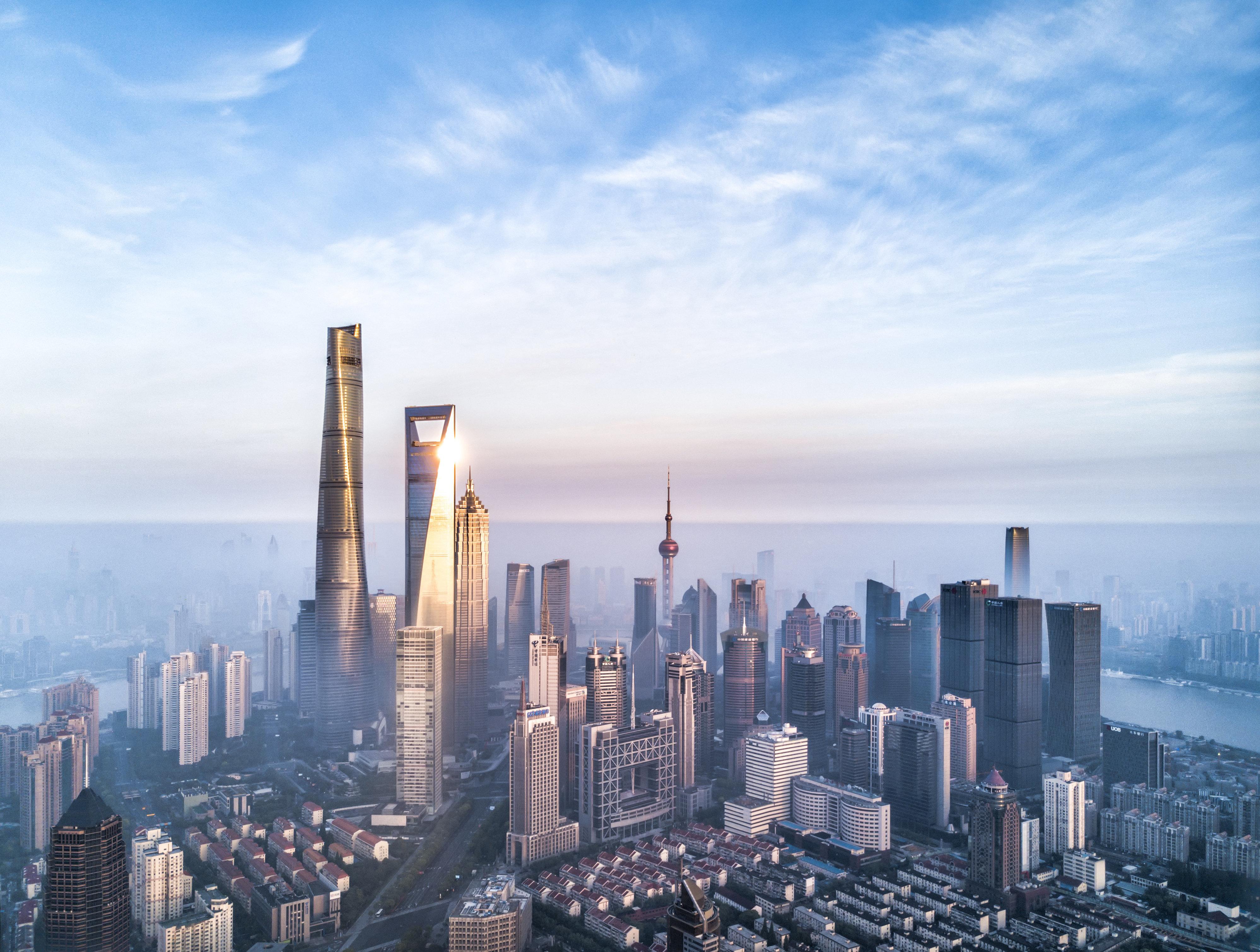 Ταξιδέψτε στη Σαγκάη μέσω μιας πανοραμικής φωτογραφίας 195 δις
