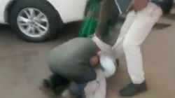Video: Distressed Madhya Pradesh Farmer Falls At Official's Feet For New