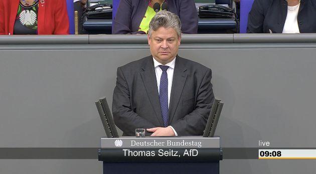 Thomas Seitz im Bundestag.