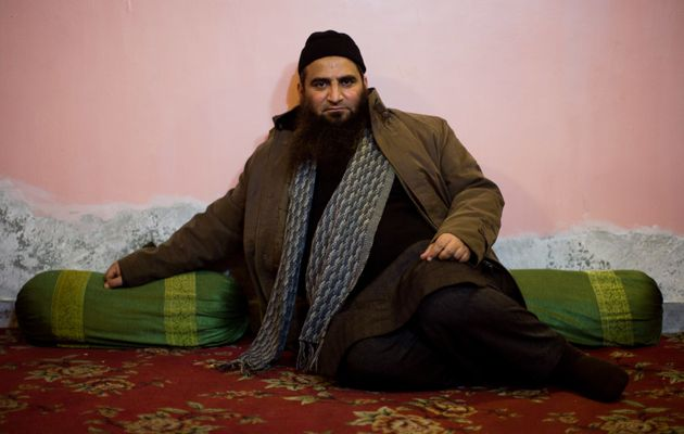 Masrat Alam Bhat at his home after he was released by the government after 53-month-long captivity on...