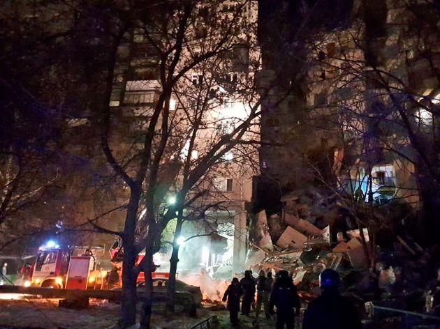 Ρωσία: Τέσσερις νεκροί από την κατάρρευση