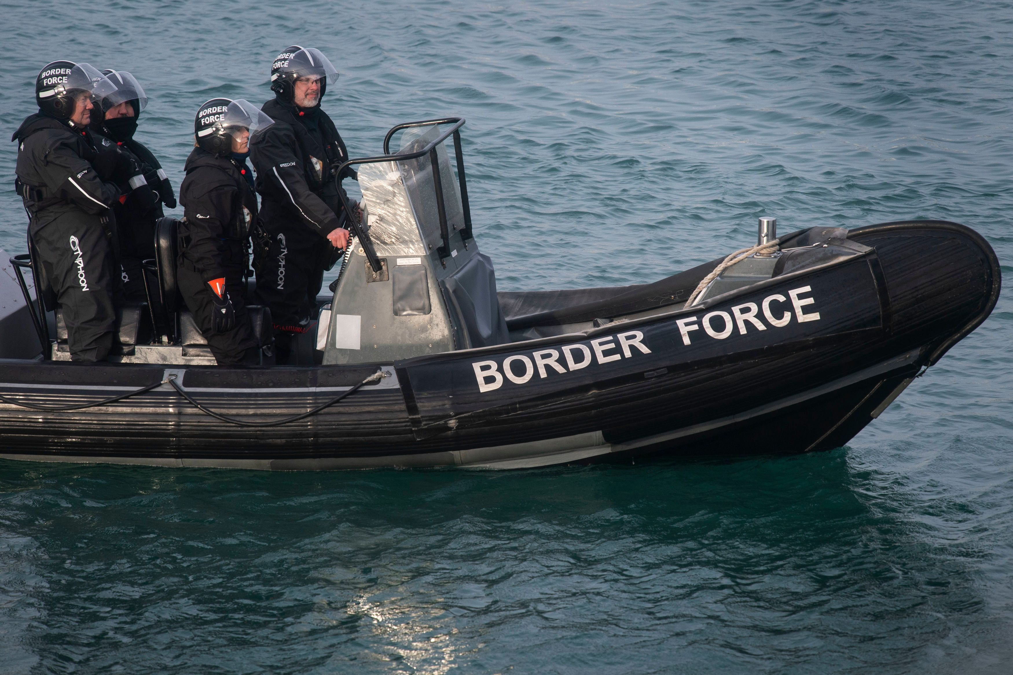 Group Of 'Suspected Migrants' Detained After Arriving On Kent