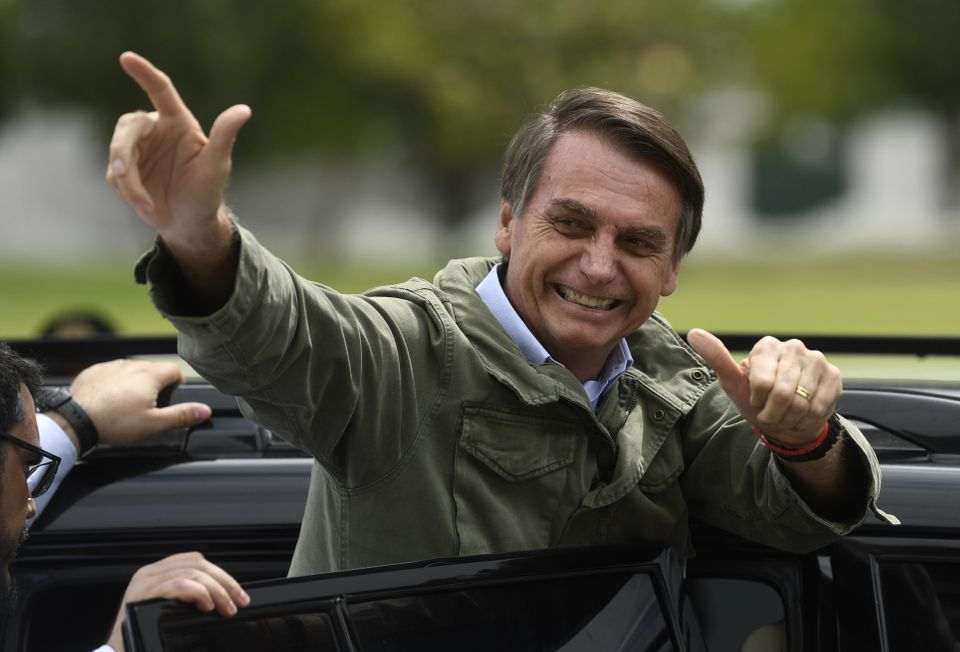 During his campaign, new Brazilian President Jair Bolsonaro symbolized his hard-line approach to violence...