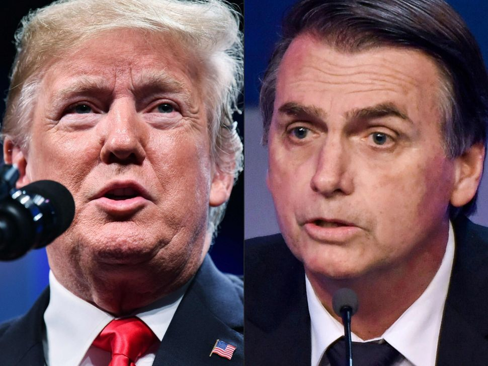 Bolsonaro modeled his rise to power on Donald Trump's. Now, right-wing politicians across Latin America...