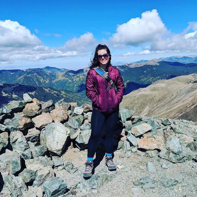 Otoño de 2018 en el Pico Wheeler (4011 m), el más alto del estado de Nuevo
