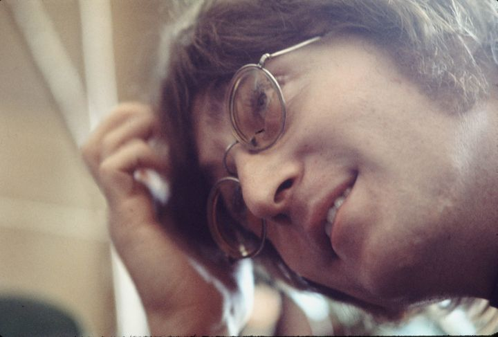 John Lennon in London in 1971.