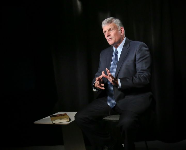 Franklin Graham, a staunch supporter of President Donald Trump, was temporarily kicked off Facebook amid concerns about a two-year-old post he wrote attacking transgender people's rights.