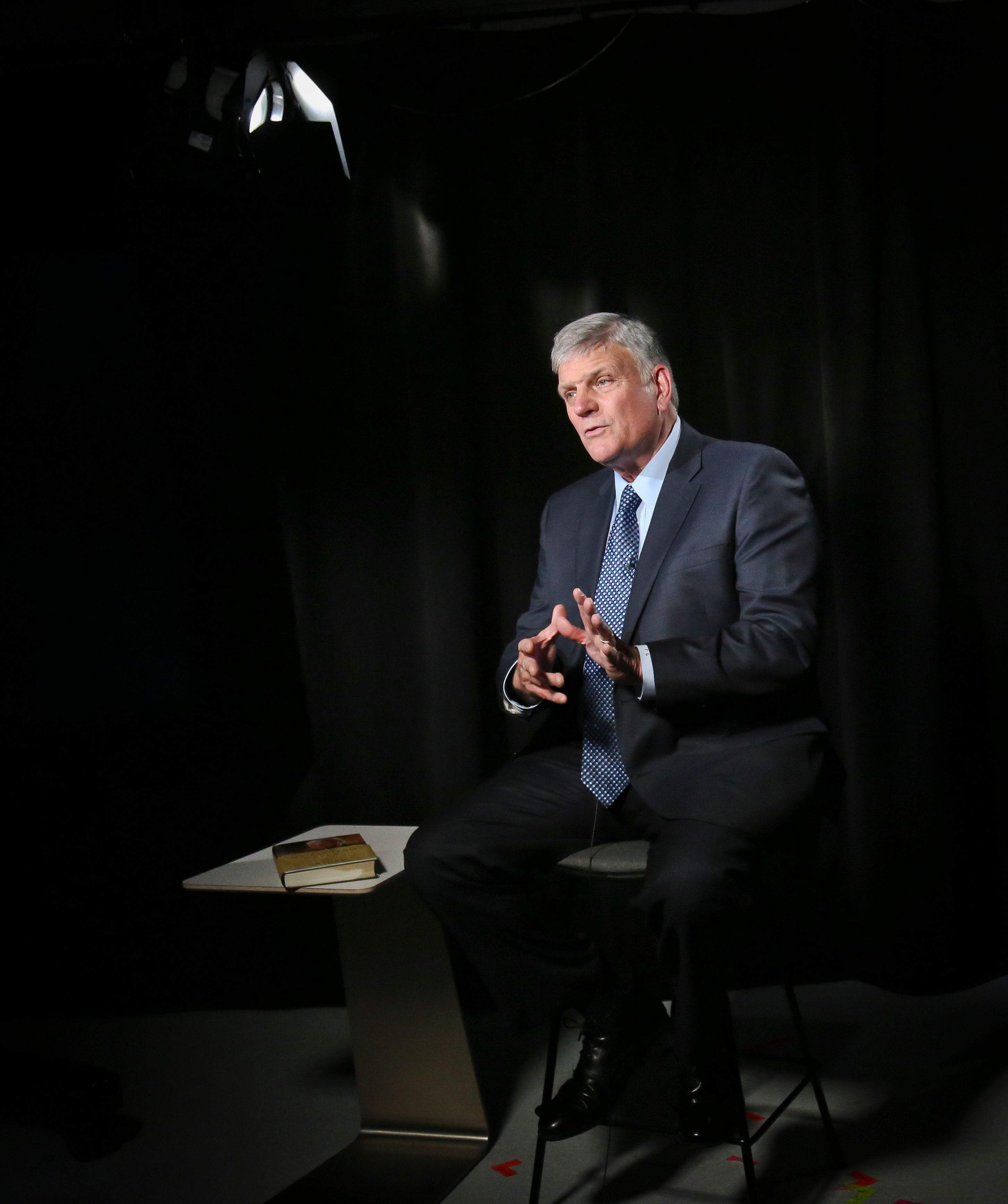 Franklin Graham, a staunch supporter of President Donald Trump, was temporarily kicked off Facebook amid concerns about a two