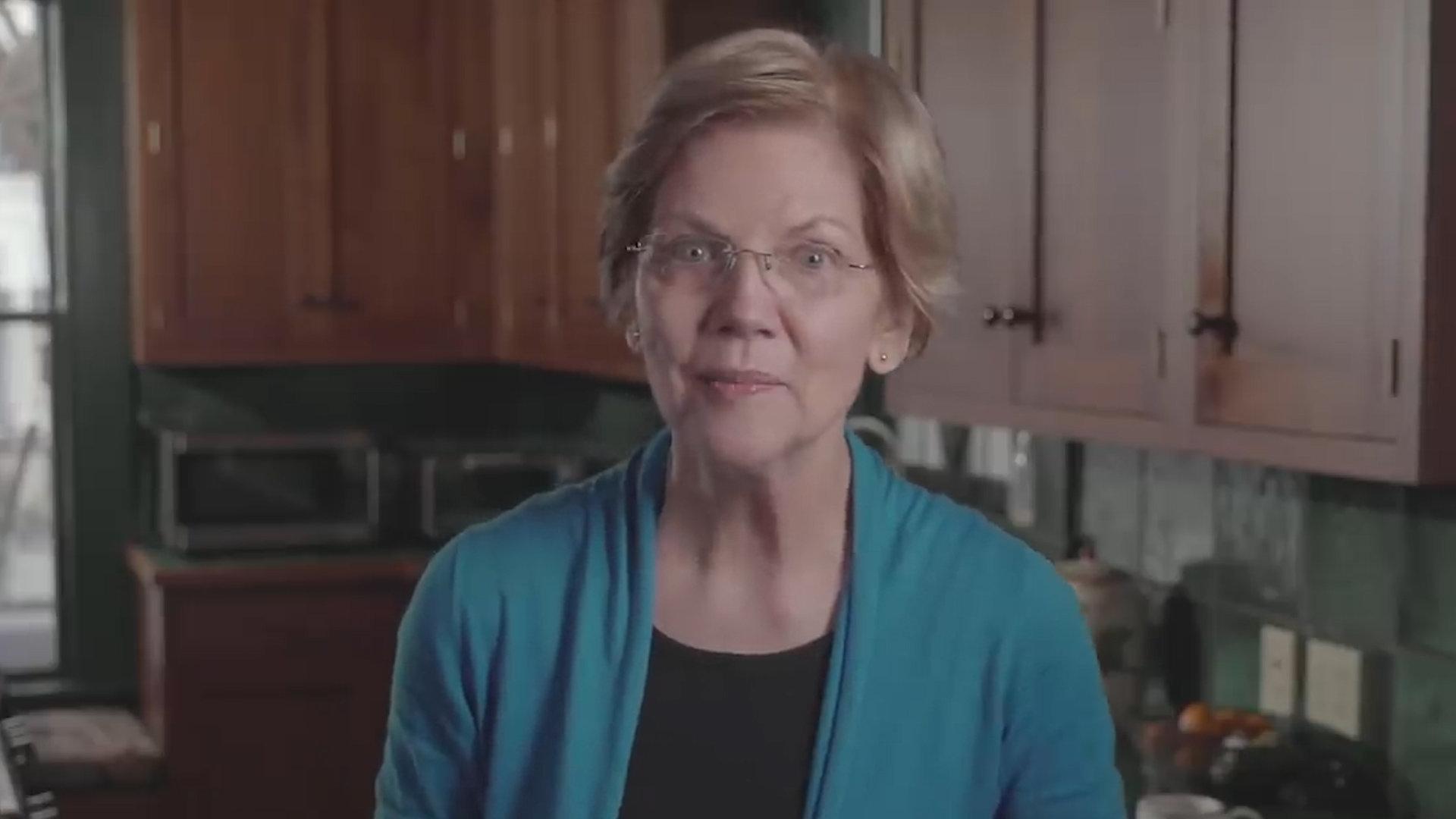 엘리자베스 워렌 2020년 대선 첫 공식 행보