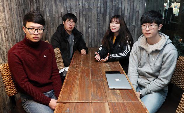 음주운전 사망사고 피해자 윤창호씨의 친구들은 새해에도 계속 바쁠 것