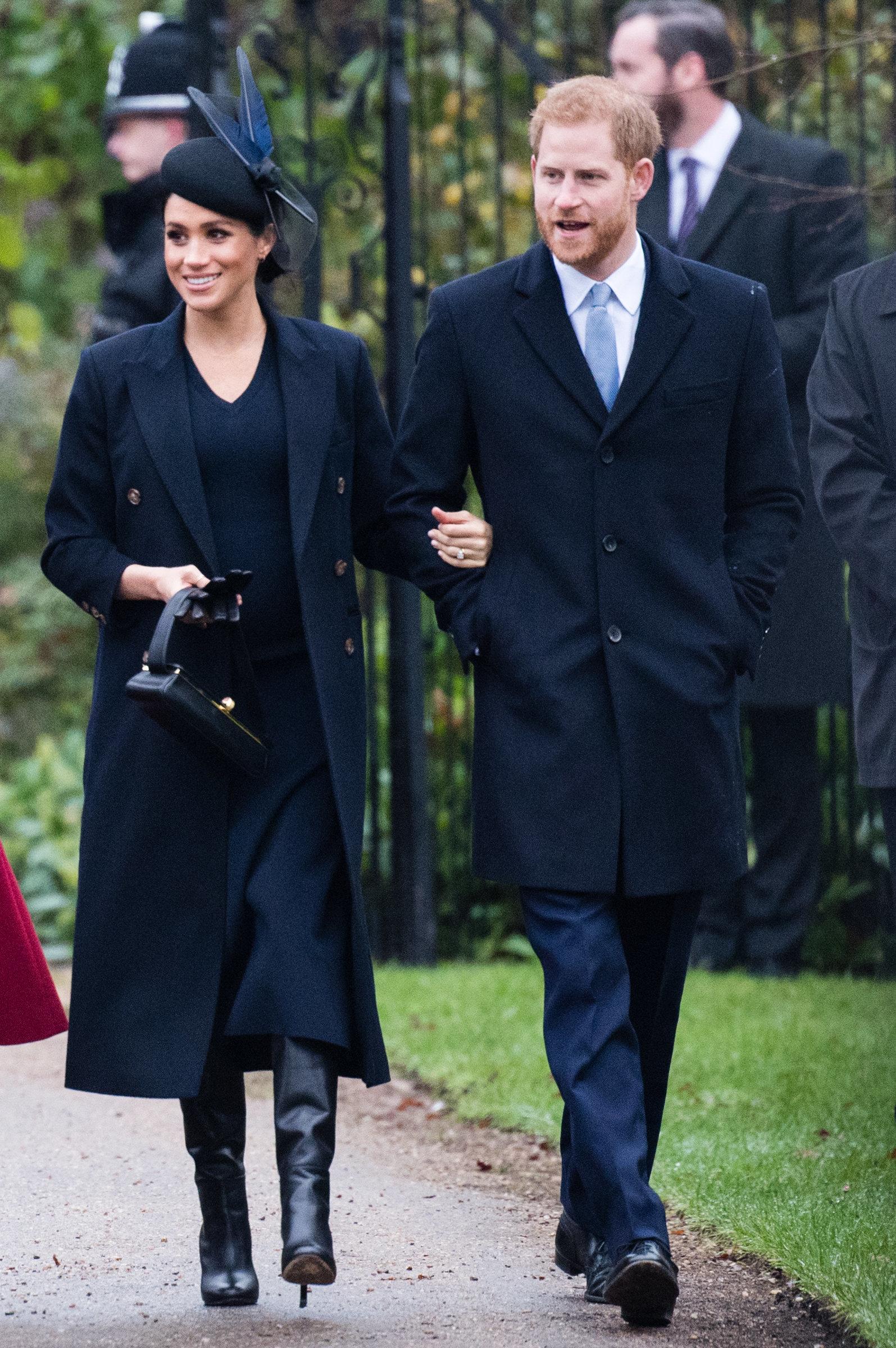 Royals bemerken eine Veränderung an Harrys Persönlichkeit – und sind Meghan