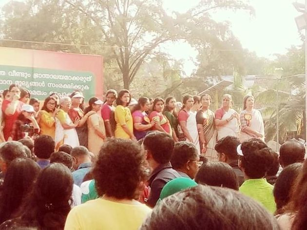 Lakhs Join Hands For Kerala's 'Women's Wall', Initiative Attacked In