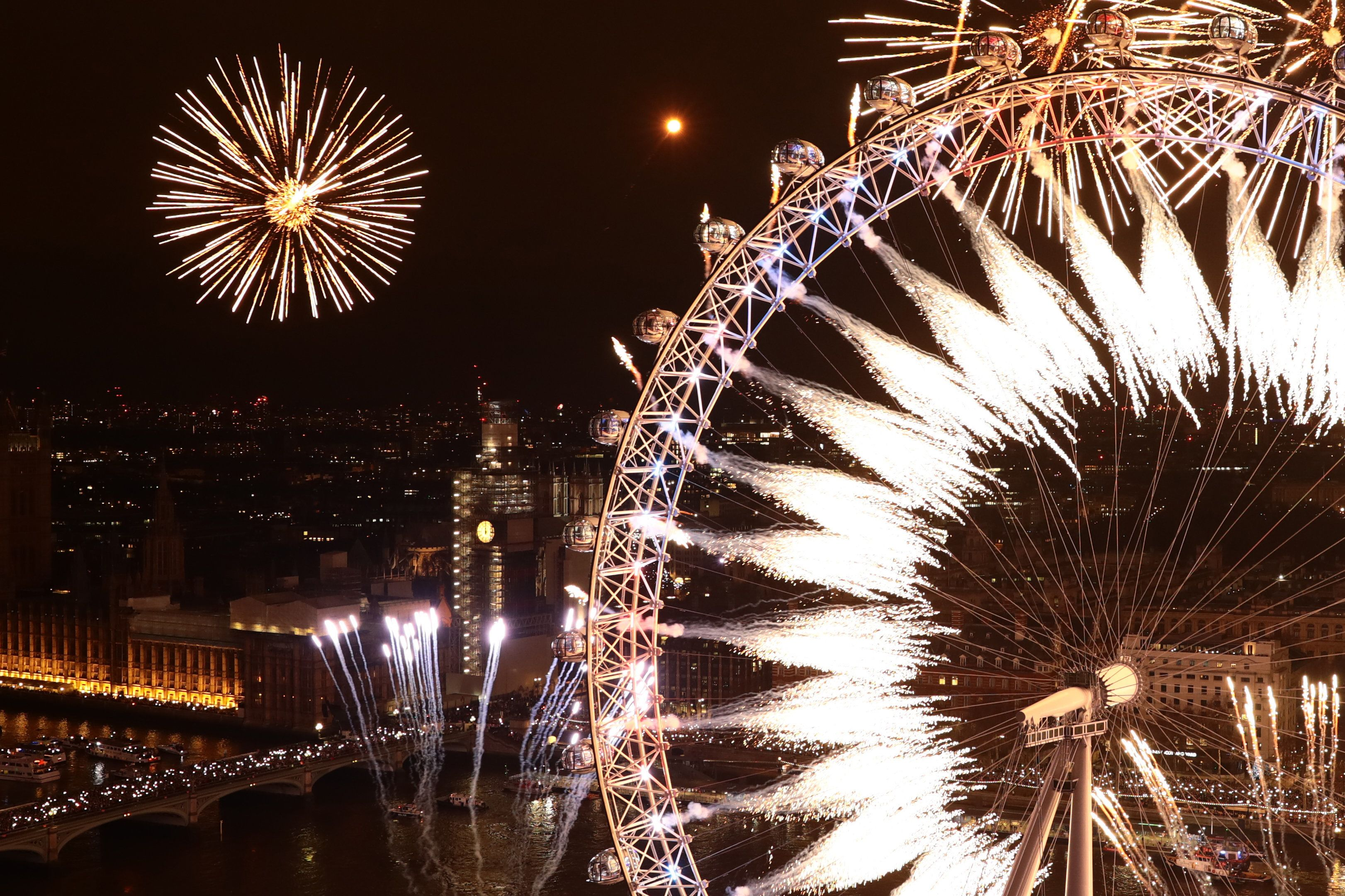 Sadiq Khan Trolled Brexiteers During London's New Year Fireworks And They're Not