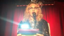 Madonna Delivers Rousing Speech As She Spends Near Year's Eve At The Historic Stonewall