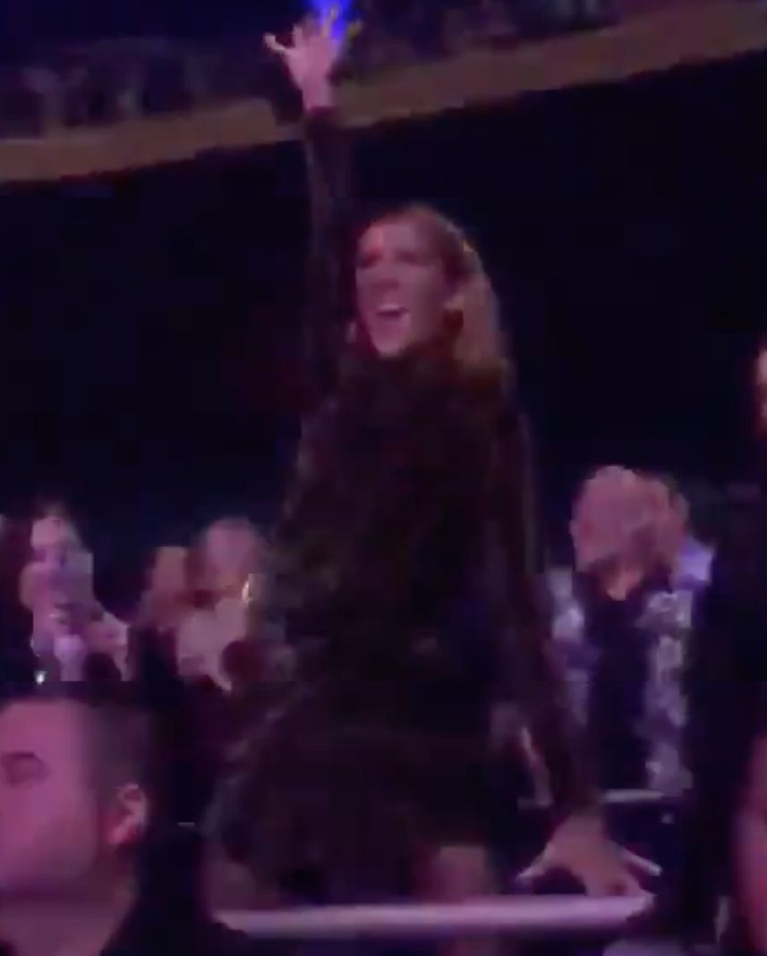 Céline Dion Dances Up A Storm In The Audience At Lady Gaga's Vegas