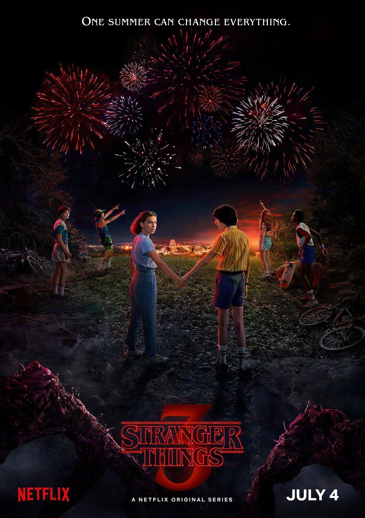 """The third season of Netflix's """"Stranger Things"""" will debut July 4."""