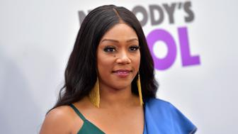Tiffany Haddish's fur statement causes a stir.