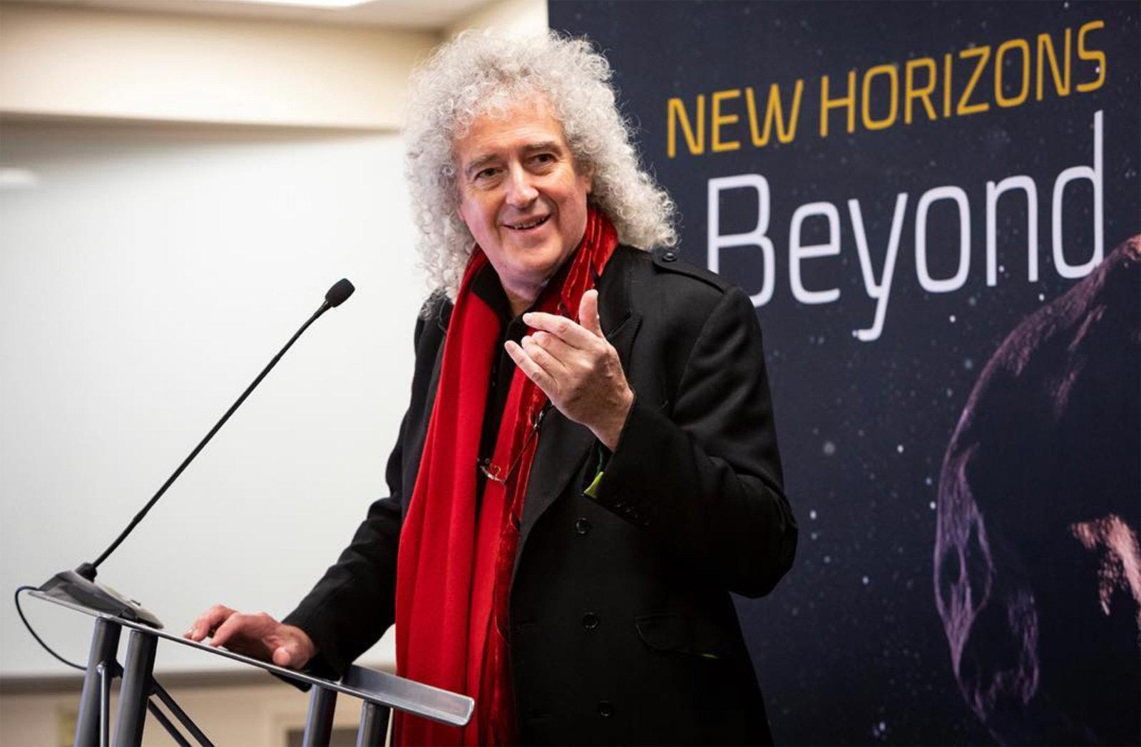 브라이언 메이가 NASA의 우주선을 위해 만든 곡이