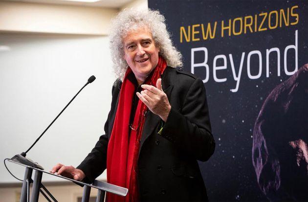 퀸의 브라이언 메이가 나사(NASA)의 뉴호라이즌스호에 헌정한 노래가