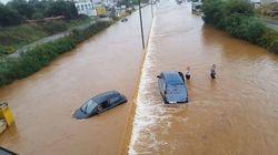 Προβλήματα από την κακοκαιρία - Βροχή που αντιστοιχεί σε αυτή μισού έτος έπεσε στα Χανιά