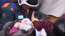 Baby Boy Pulled Alive From Freezing Rubble 35 Hours After Russian Gas