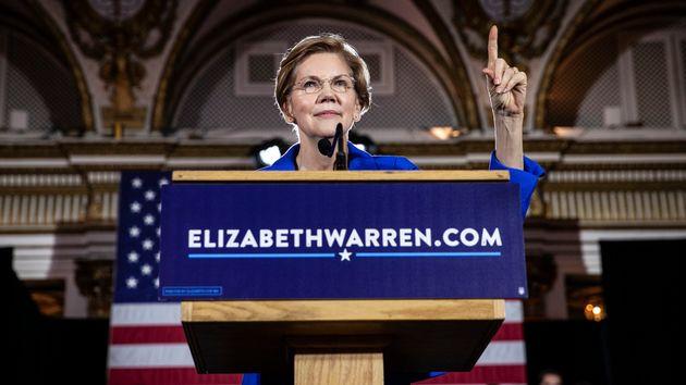 2020년 미국 대선 출마를 선언한 엘리자베스 워렌의 강점과