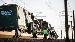 Six Killed And 16 Injured In Train Crash On Bridge In