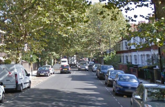 Charlotte Huggins was found with stab injuries at a residential address in John Ruskin Street (file