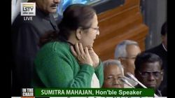 Watch: Sumitra Mahajan Scolding Adult MPs For Flying Paper 'Hawai-Jahaaz' During Heated Rafale Debate In Lok