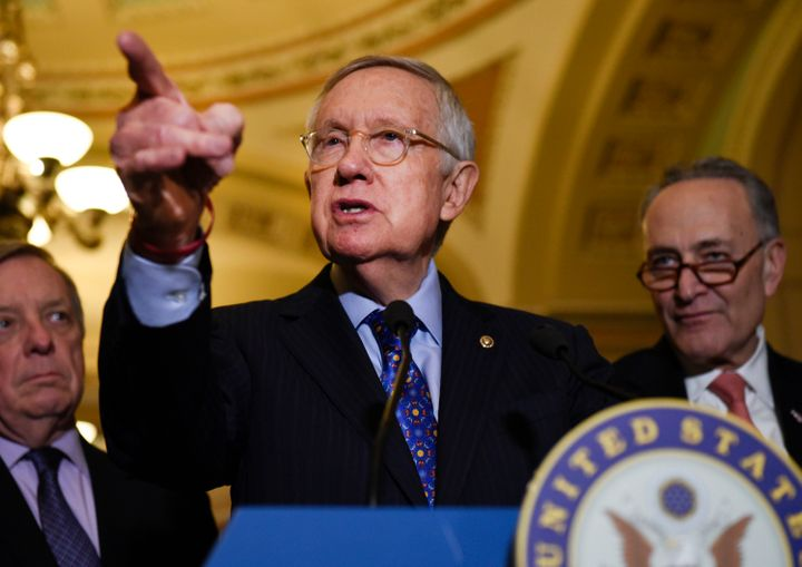 "Former Senate Majority Leader Harry Reid spoke out about President Donald Trump: ""He'll lie. He'll che"