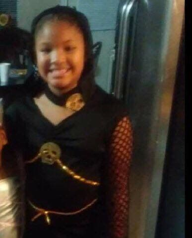 Jazmine Barnes, 7, was fatally shot by an unidentified suspect while leaving a store in Texas on Sunday.