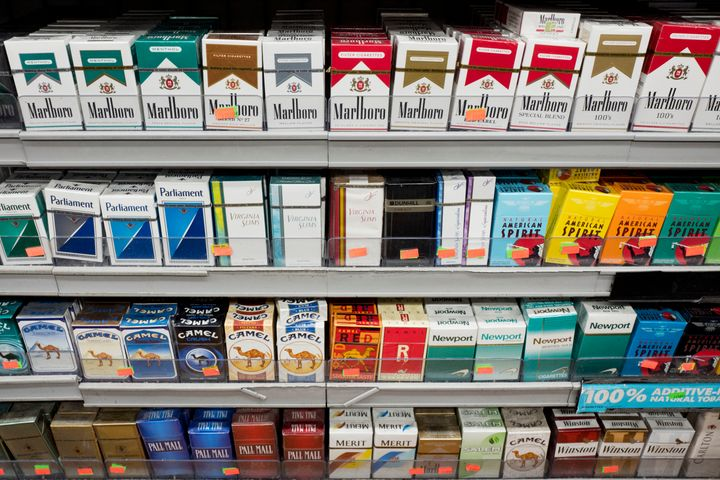 Some states and cities are taking aim at tobacco products this year.
