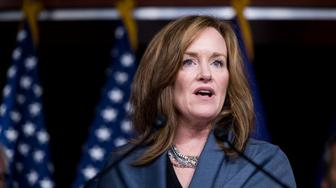 UNITED STATES - NOVEMBER 16: Rep. Kathleen Rice, D-N.Y., speaks during a press conference on deportation of veterans on Thursday, Nov. 16, 2017. (Photo By Bill Clark/CQ Roll Call)