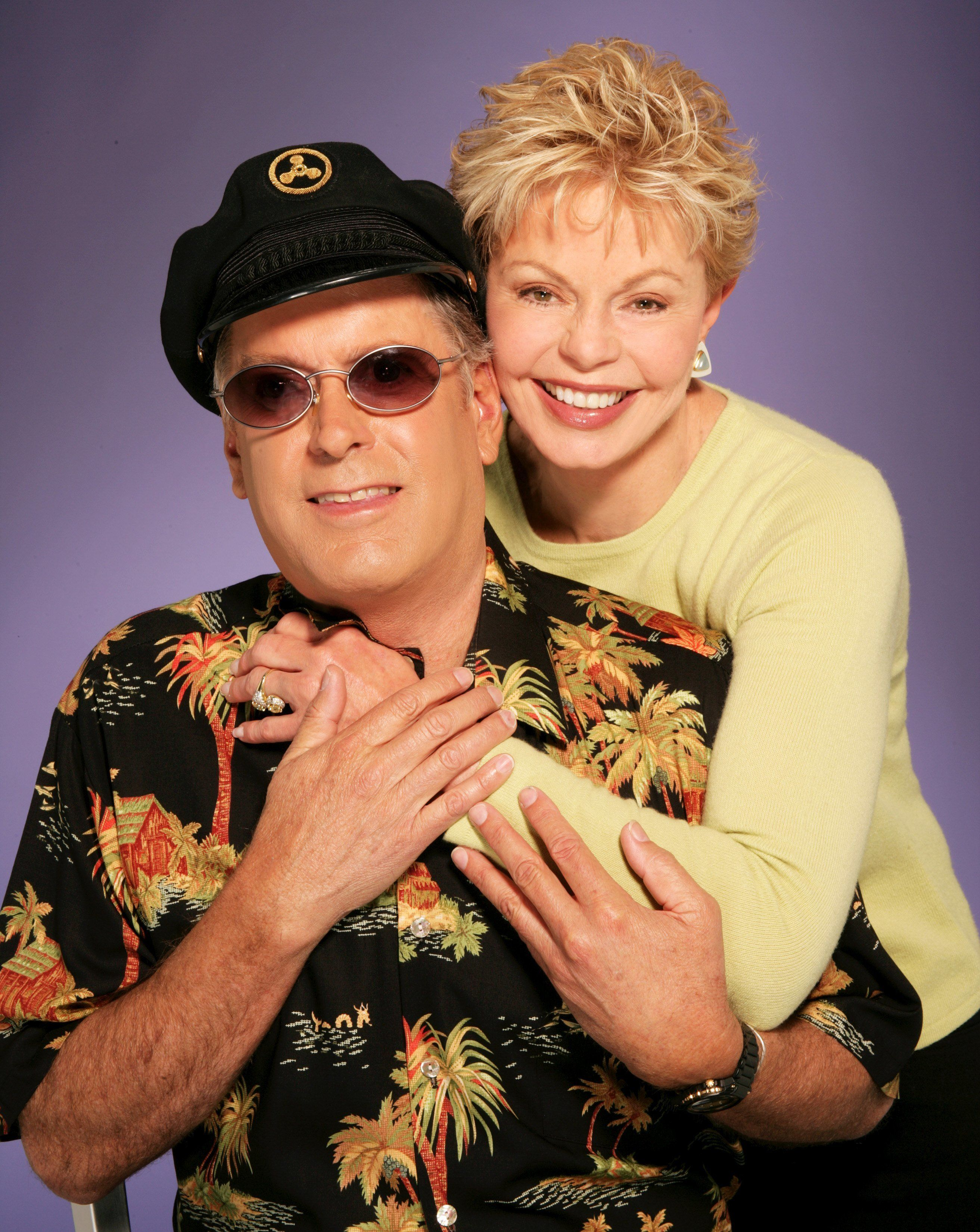 LOS ANGELES - 2005:  Singers Toni Tennille and Daryl Dragon of the Duo Captain & Tennille pose for a portrait in 2005 in Los Angeles, California. (Photo by Harry Langdon/Getty Images)
