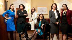 오카시오 코르테즈가 새 역사를 쓴 여성 의원들의 사진을